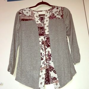 Boutique blouse perfect for spring!